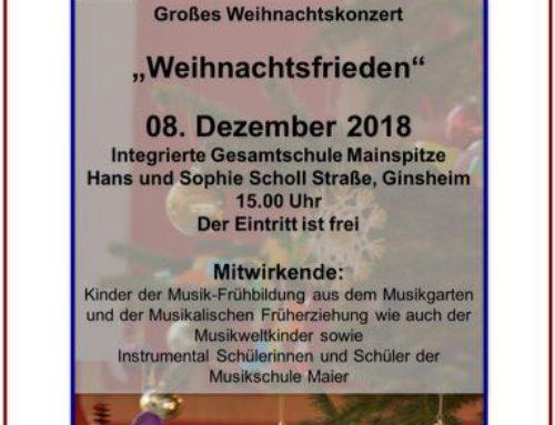 Beschaulich, musikalisch und stimmungsvoll – Weihnachtskonzert 2018