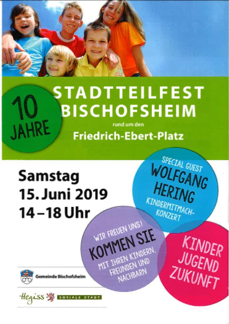 Musikschule Mobil am 15. Juni – Stadtteilfest in Bischofsheim –
